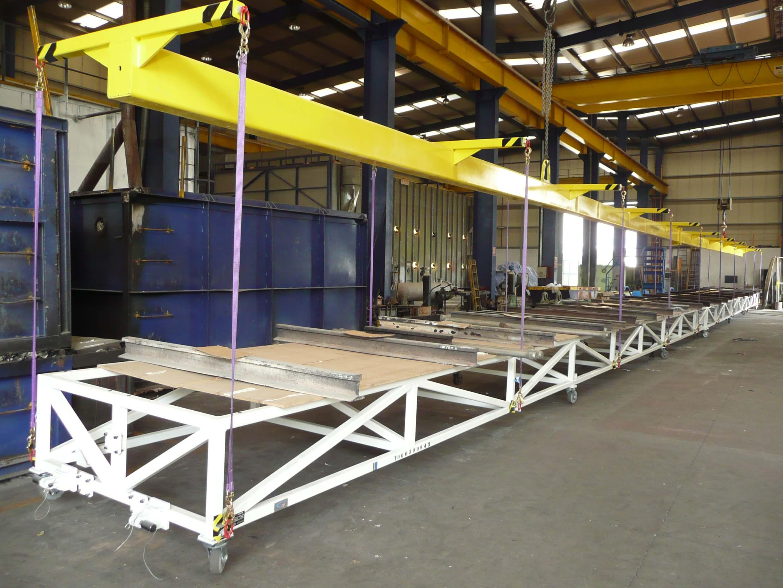 CARRO y ESLINGA DE IZADO DE L32m - Lifting Tools