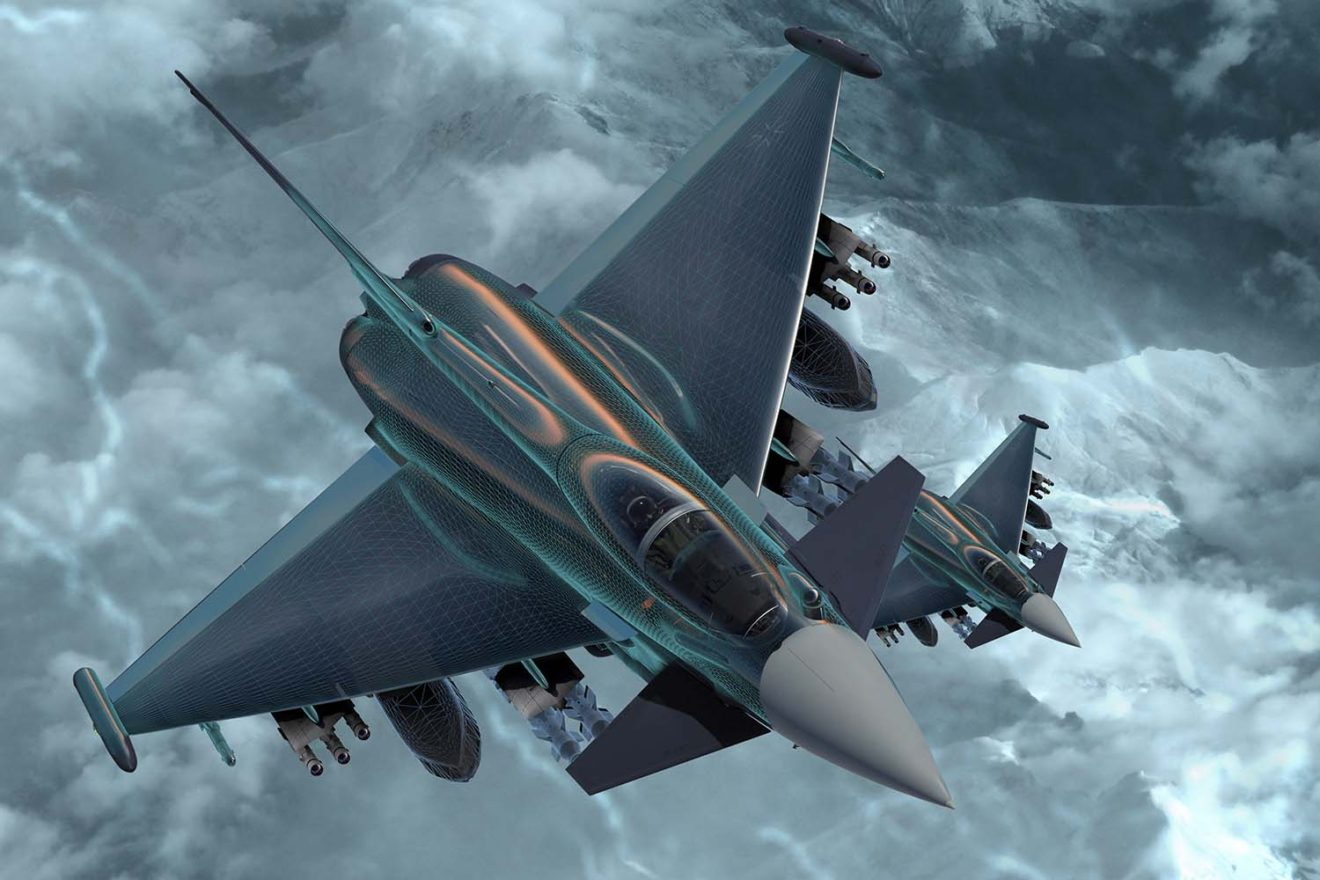 Eurofighter Typhoon futuro A1 - Our Projects