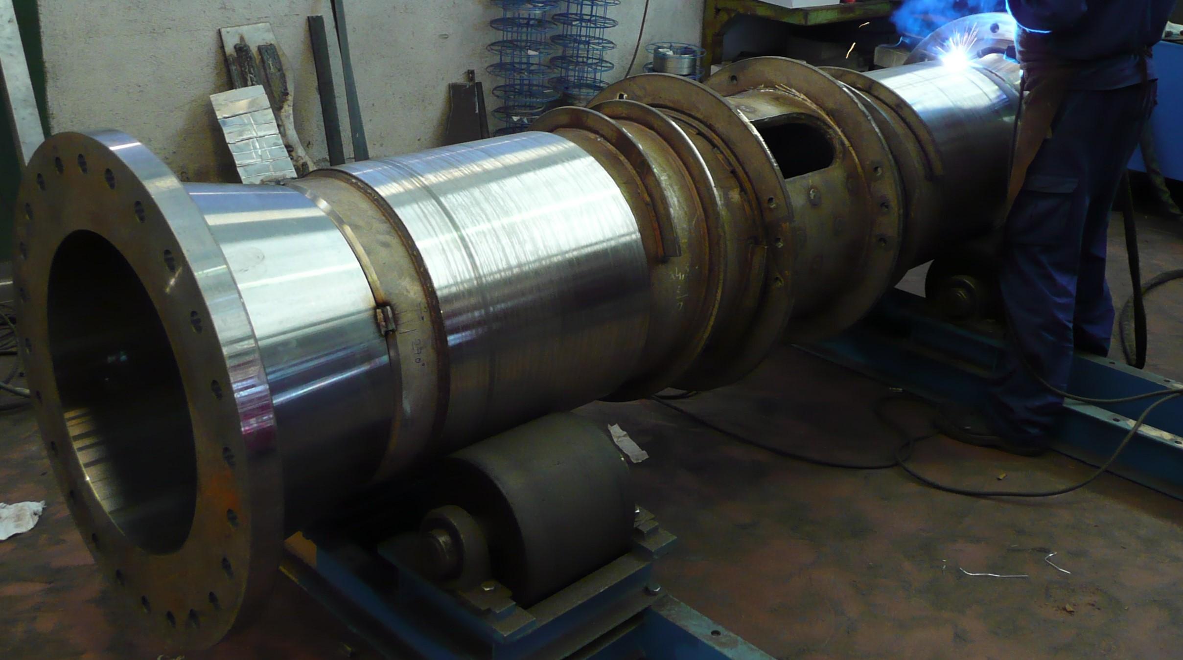 SOLDADURA AISI 321 ACERO CARBONO - Metalwork and Welding