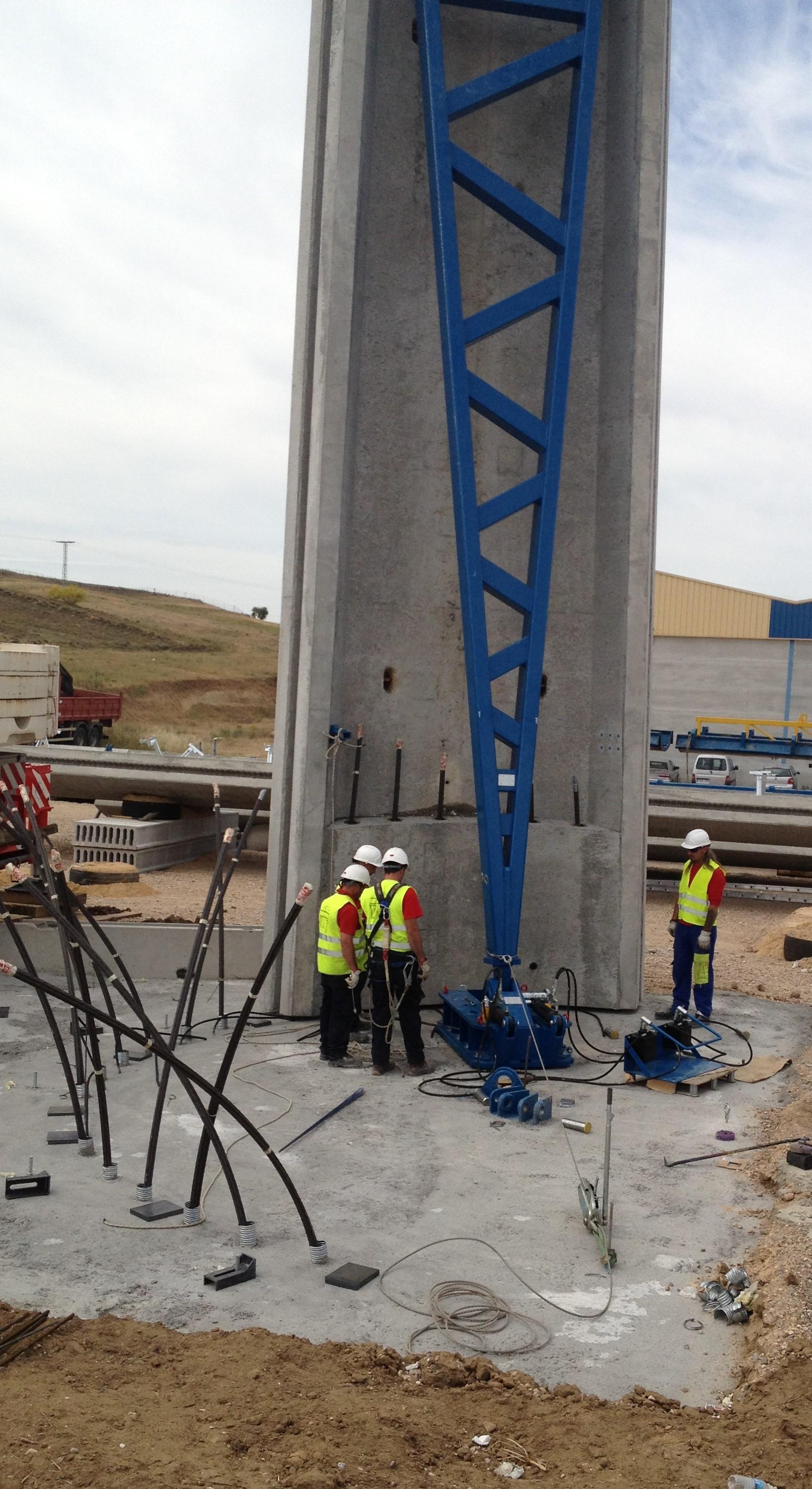 estructuras obra publica conduccion de agua y montaje en obra 8 - Our Projects