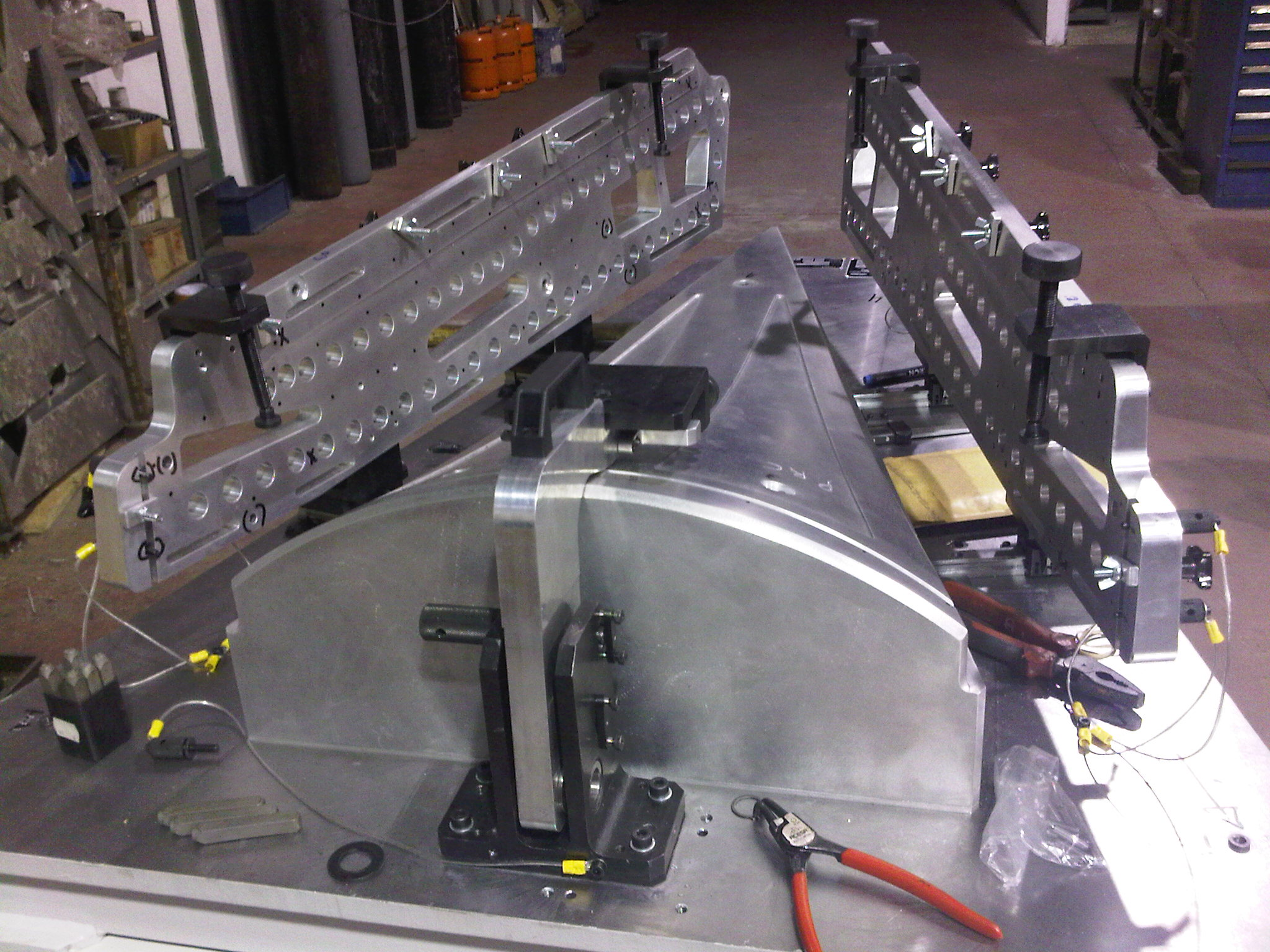 Assembly and drilling templates