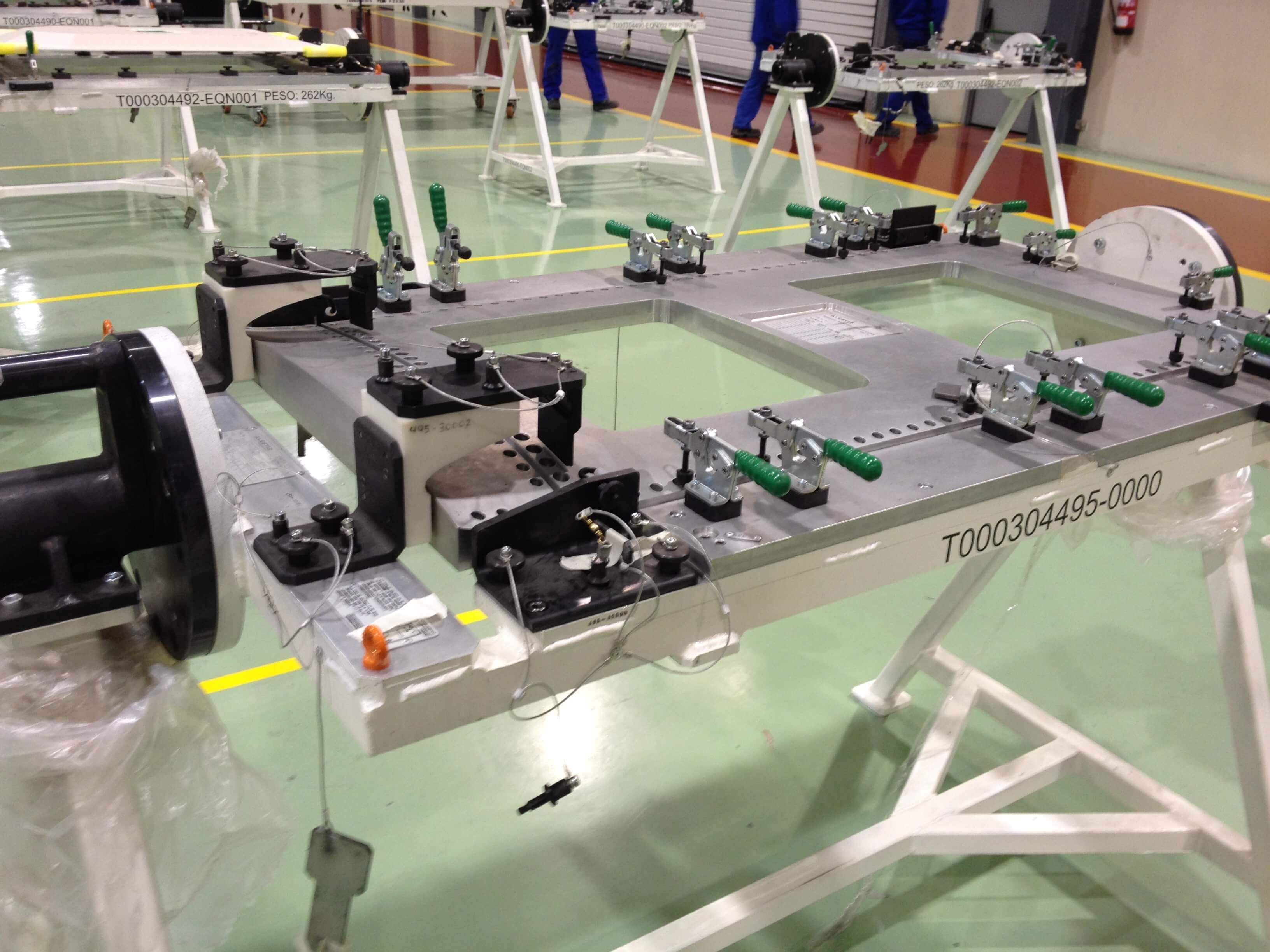 IMG 0728 - Plantillas de montaje y taladrado