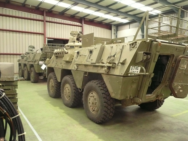 Reparaciones de soldadura y vehículos militares