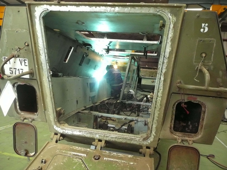 P1000796 - Reparaciones de soldadura y vehículos militares