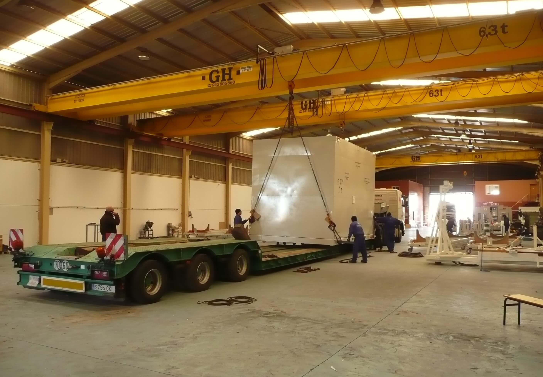 UTIL DE TRANSPORTE COLAS - Útiles de transporte y manipulación