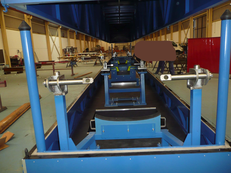 UTIL DE TRANSPORTE TAIL BOOM L12m LI TAPADO - Útiles de transporte y manipulación