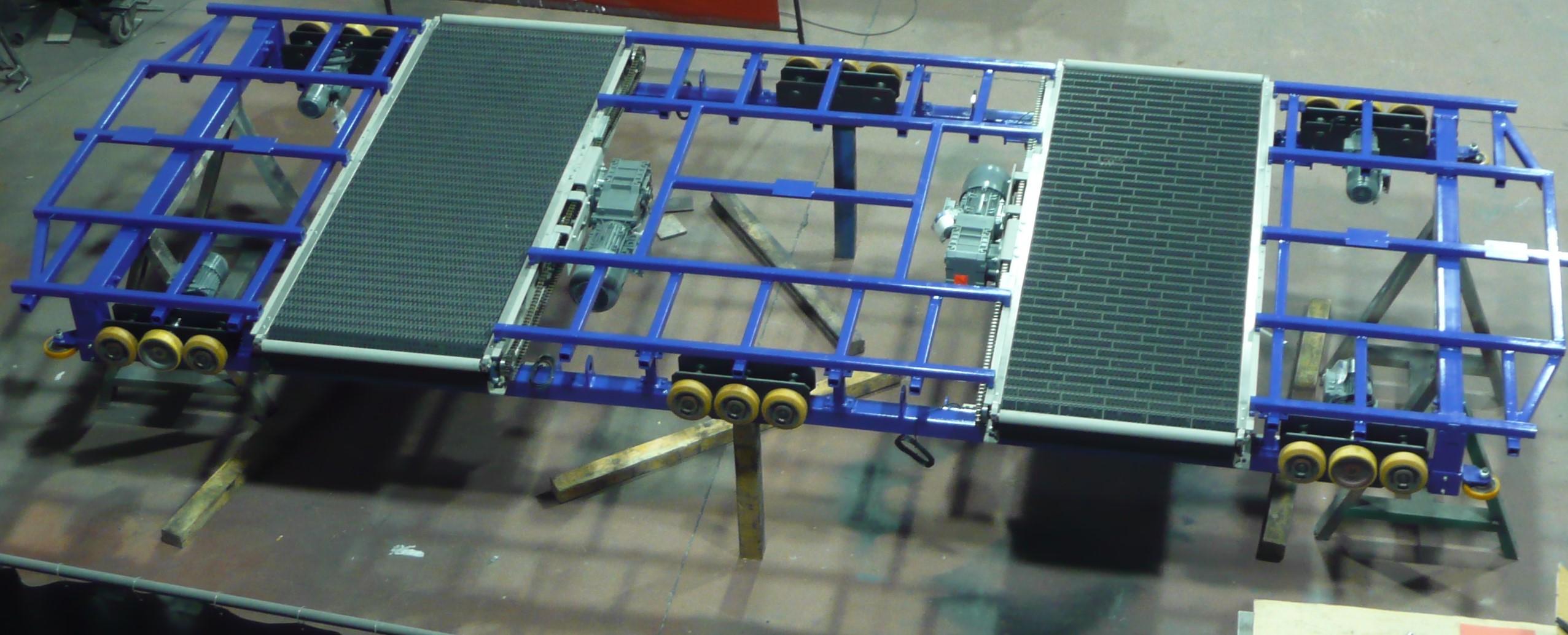 ROBOT PARA APARCAMIENTO ROBOTIZADO - Trabajos realizados