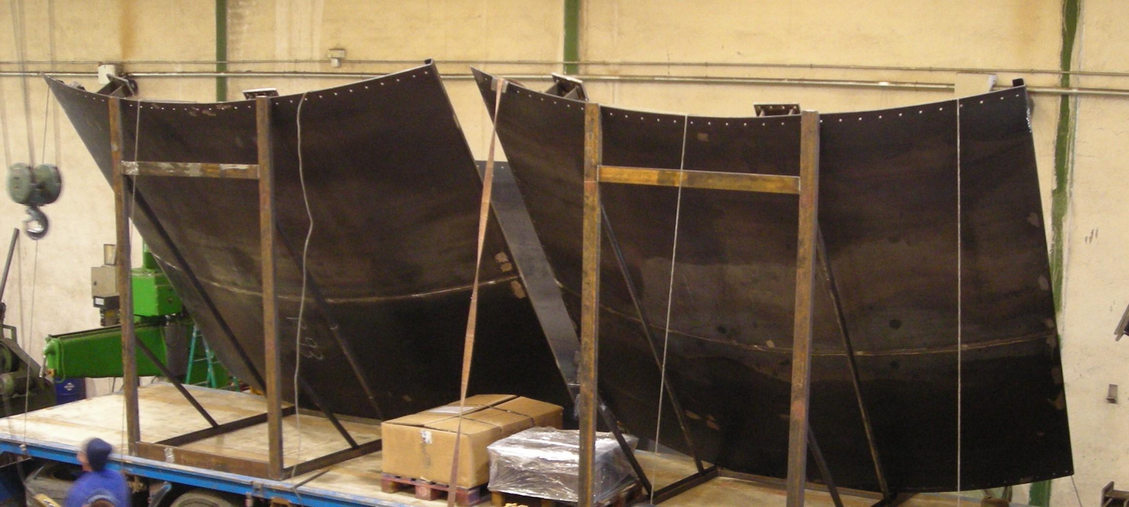 estructuras obra publica conduccion de agua y montaje en obra 1 - Trabajos realizados