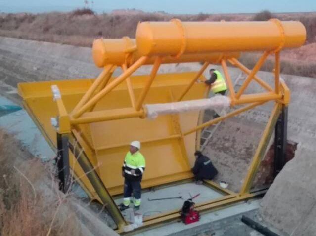 estructuras obra publica conduccion de agua y montaje en obra 14 - Trabajos realizados