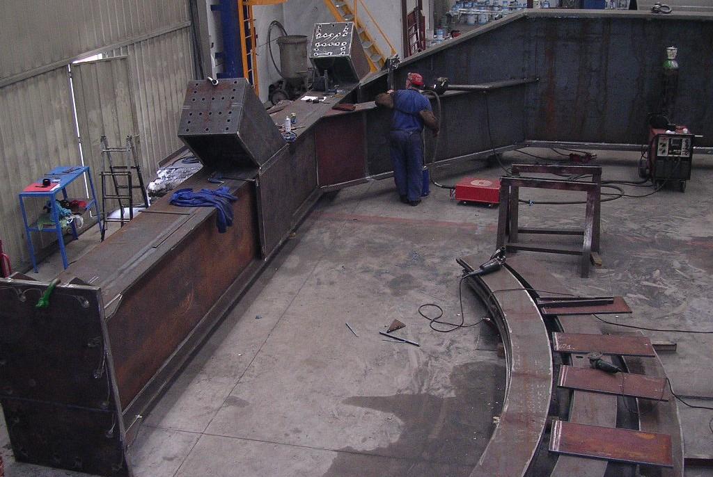 estructuras obra publica conduccion de agua y montaje en obra 3 - Trabajos realizados