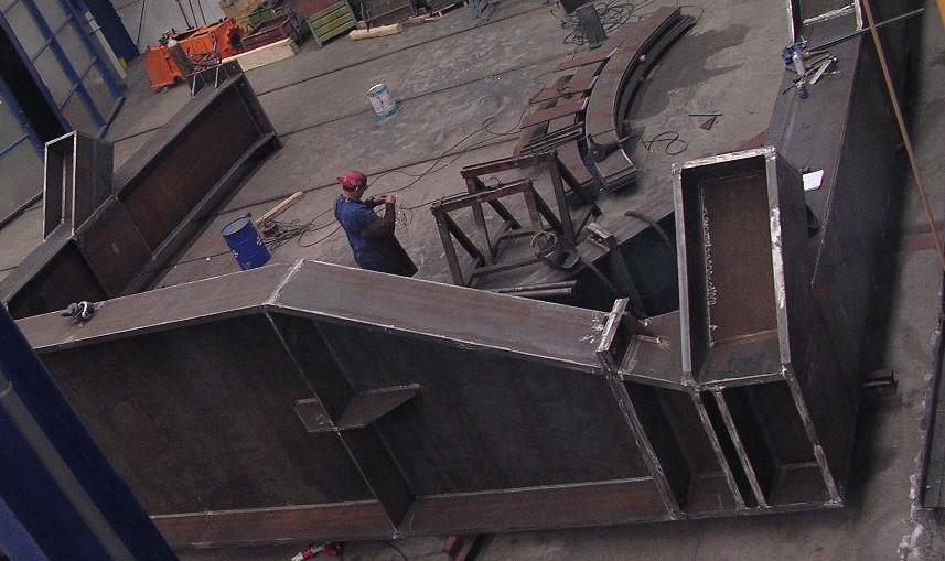 estructuras obra publica conduccion de agua y montaje en obra 4 - Trabajos realizados