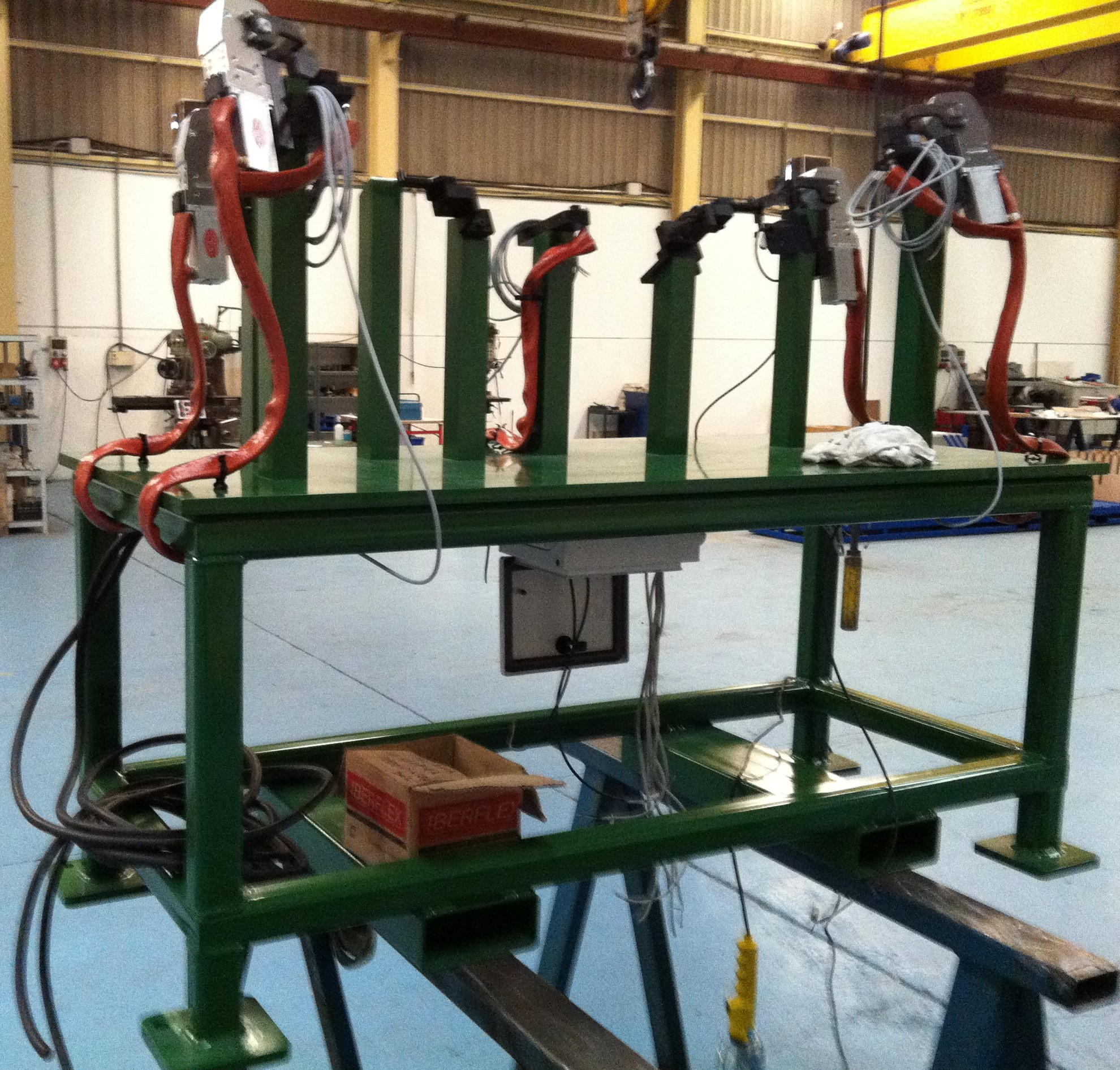máquinas especiales 2 - Trabajos realizados