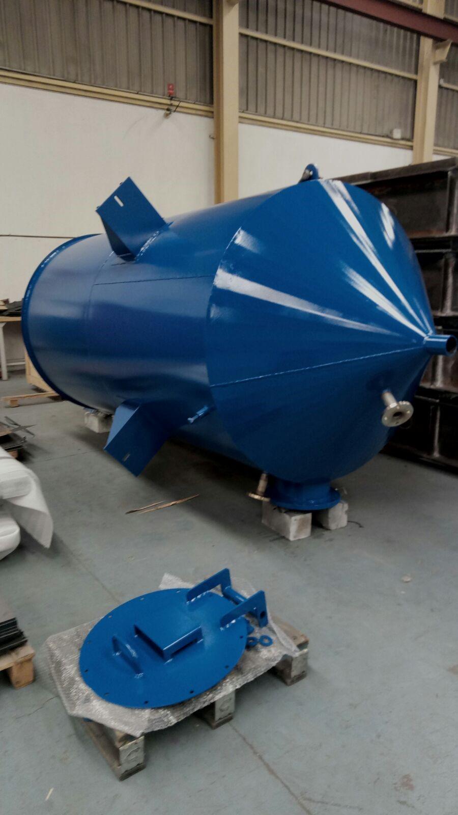 silos depósitos serpentines filtros en T ciclones tamices 1 - Trabajos realizados