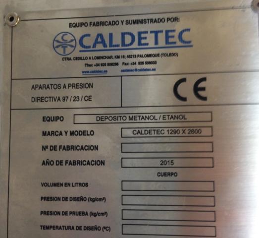 PROYECTO y CÁLCULO DE EQUIPOS A PRESIÓN