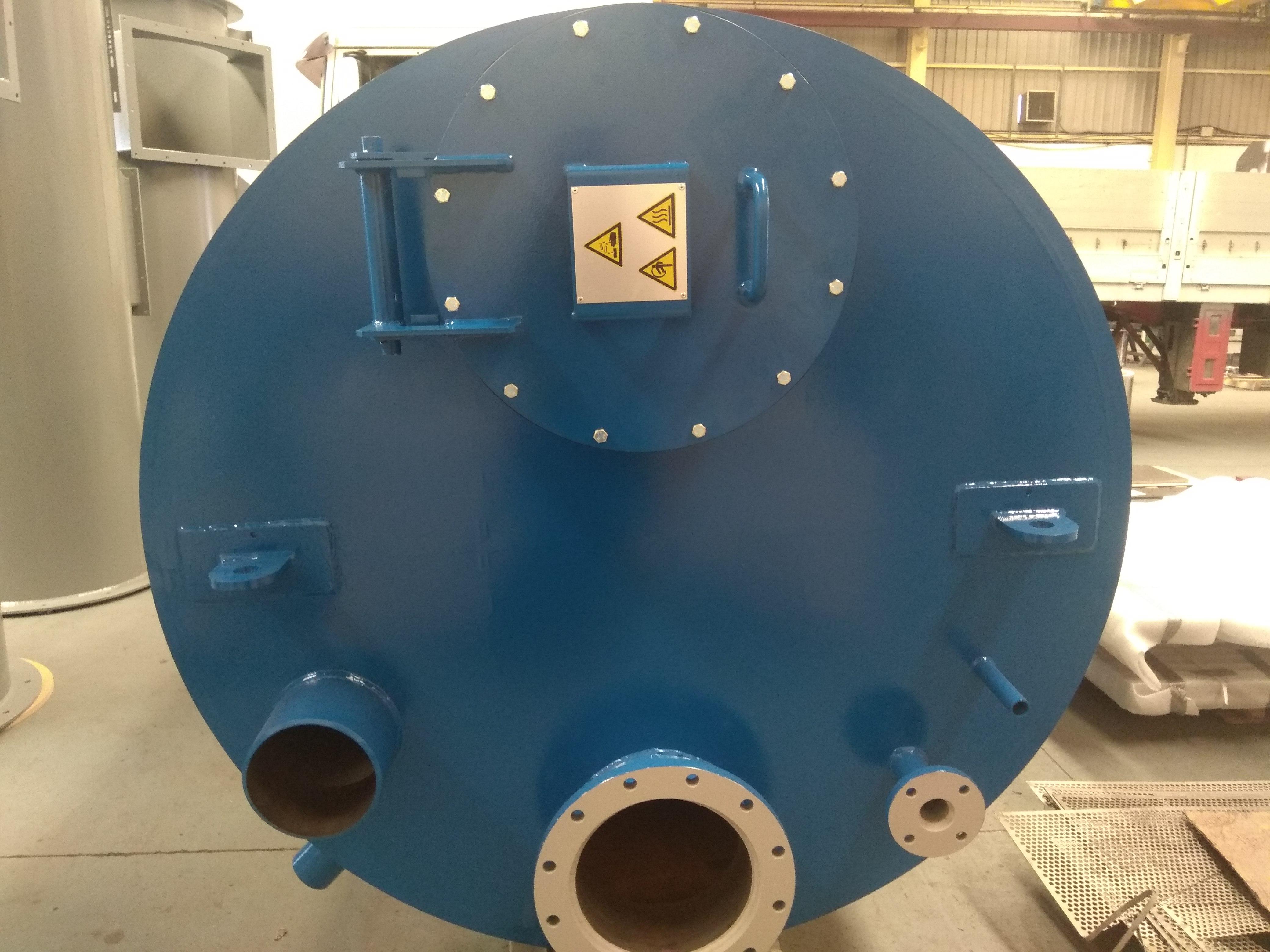 silos depósitos serpentines filtros en T ciclones tamices 30 - Trabajos realizados