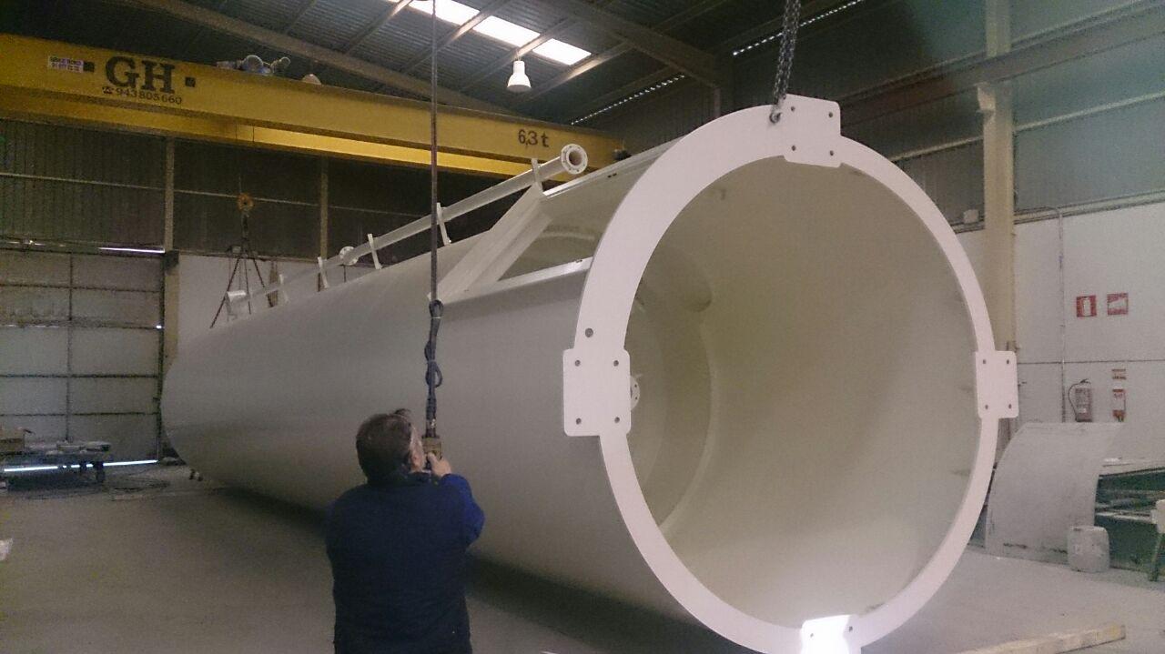 silos depósitos serpentines filtros en T ciclones tamices 32 - Trabajos realizados