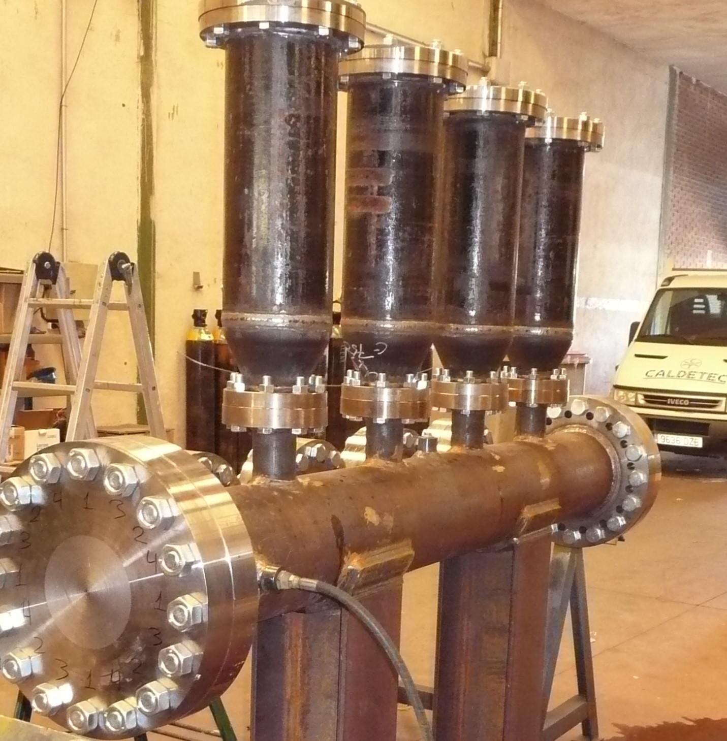 silos depósitos serpentines filtros en T ciclones tamices 38 - Trabajos realizados