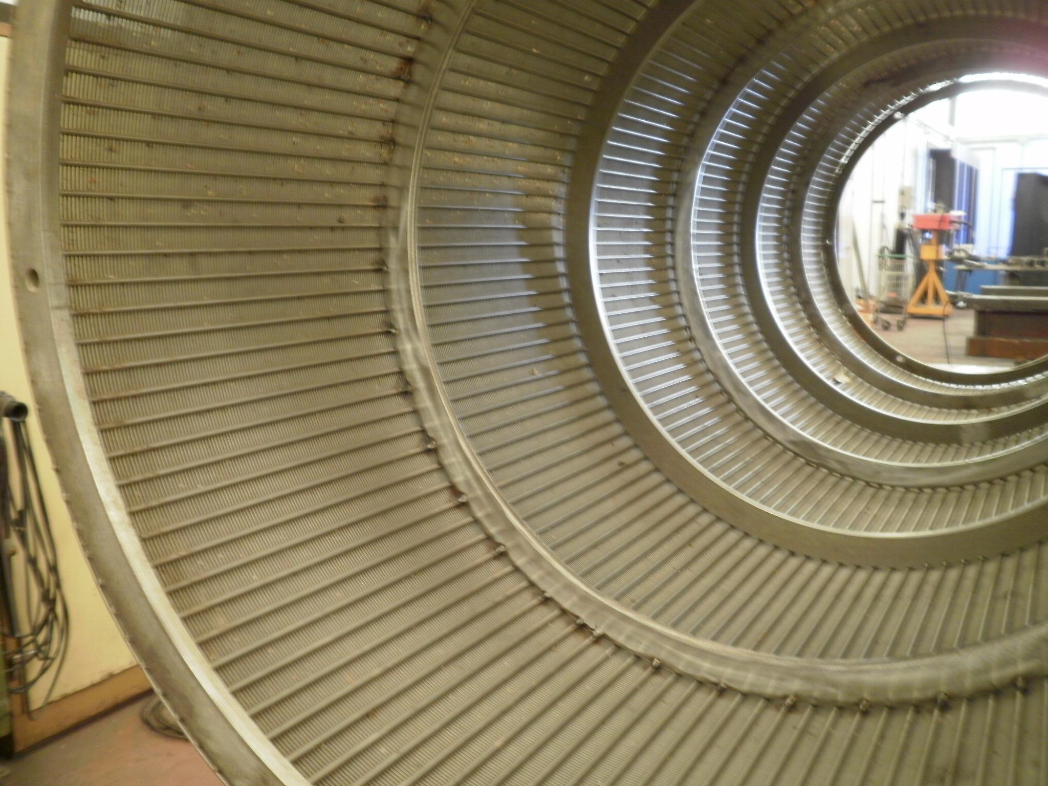 silos depósitos serpentines filtros en T ciclones tamices 39 - Trabajos realizados