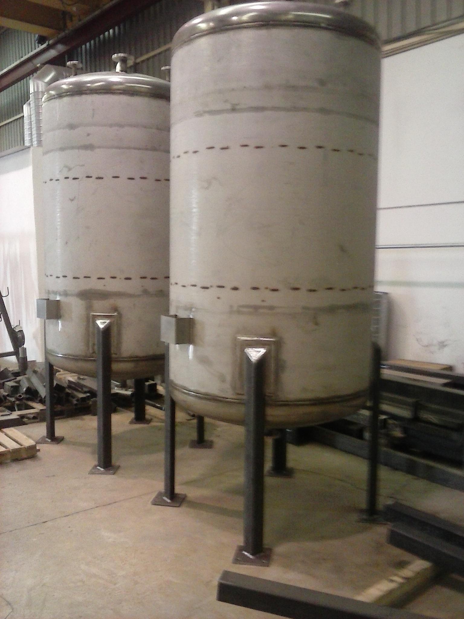 silos depósitos serpentines filtros en T ciclones tamices 6 - Trabajos realizados